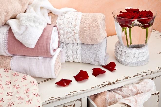 Красивые подарочные полотенца