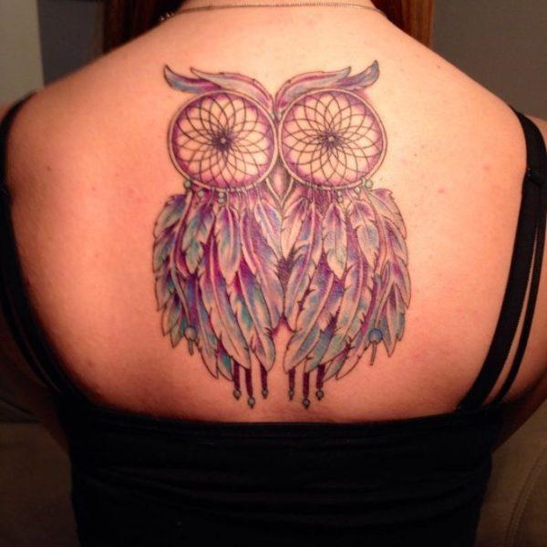 Татуировка ловец снв сова