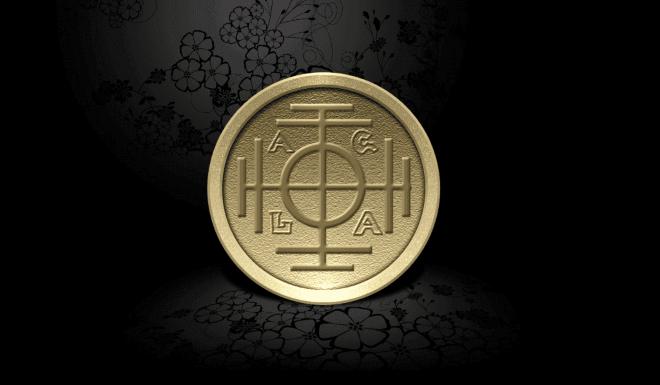 Талисман денежная монета
