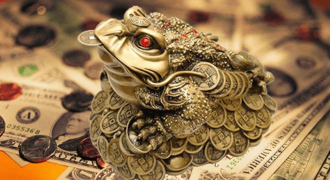 Талисман трехногая жаба