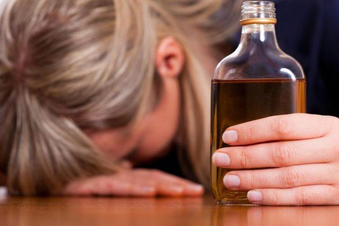 пристрастие к алкоголю