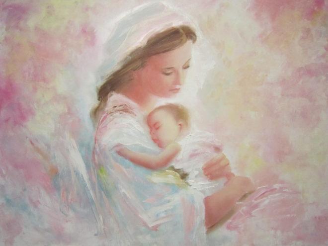 ребенок с матерью