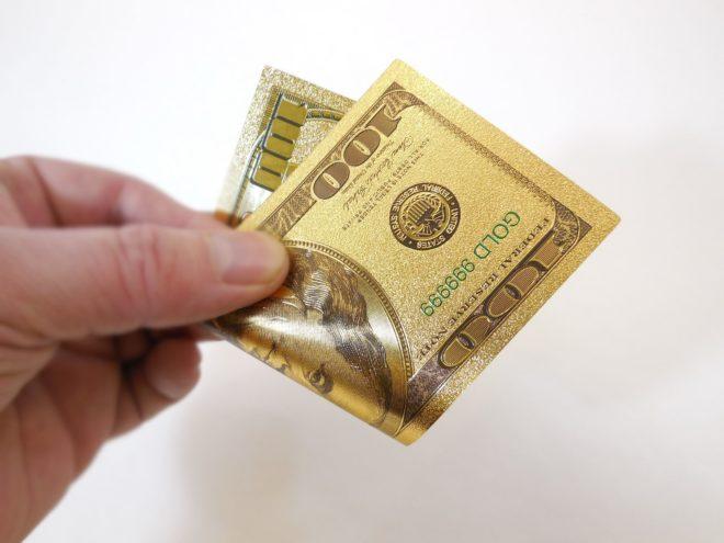 денежный талисман купюра