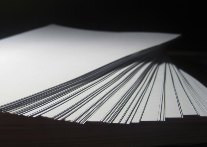 Стопка бумаги А4