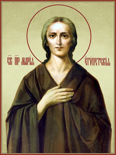 икона преподобной Марии Египетской