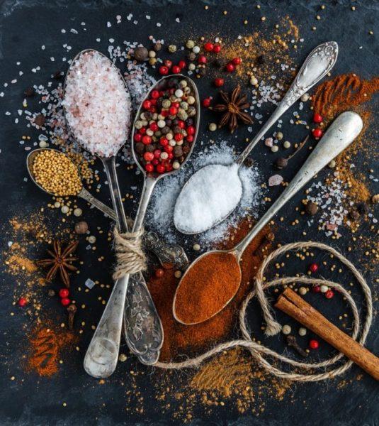 пряности и соли