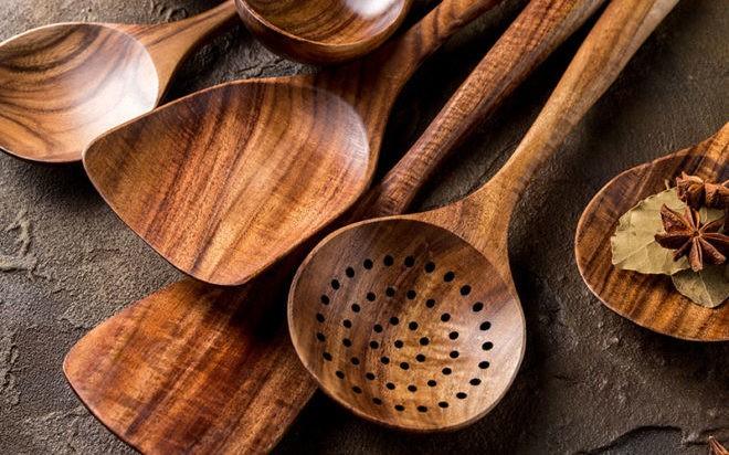 Деревянные столовые приборы