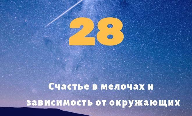 число 28