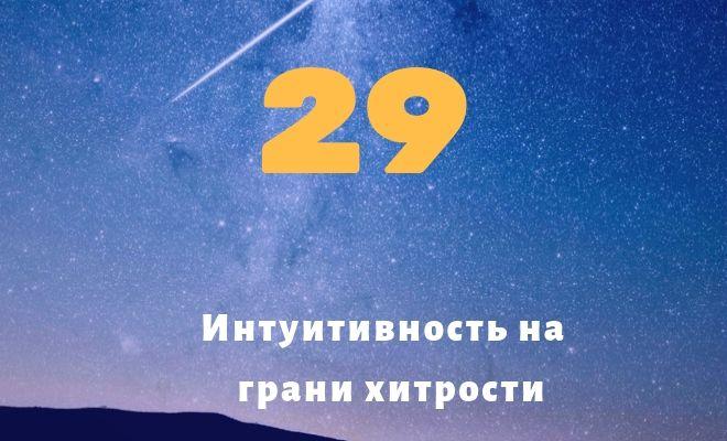 число 29