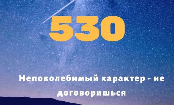 число 530