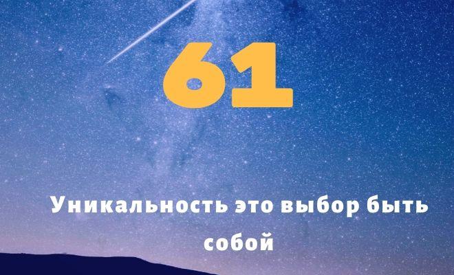 число 61