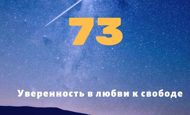 число 73
