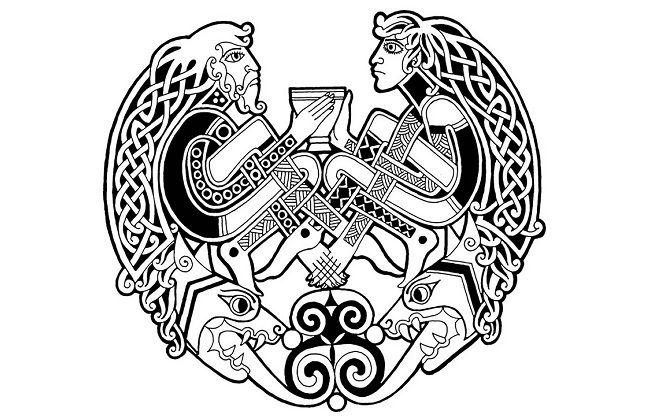 кельтские узоры действие