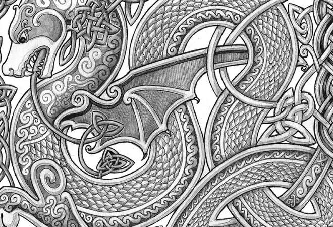 кельтские узоры история
