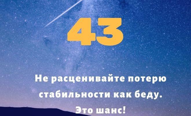 число 43