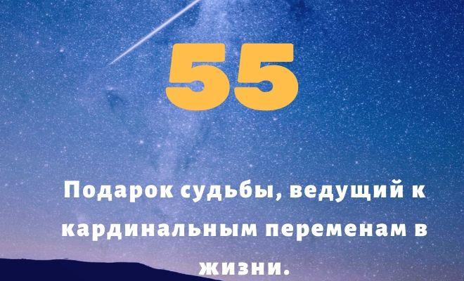 число 55