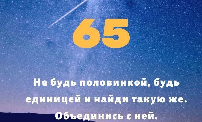 число 65