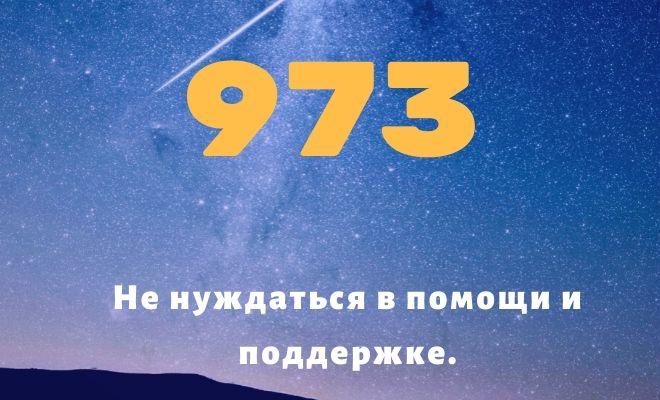 число 973