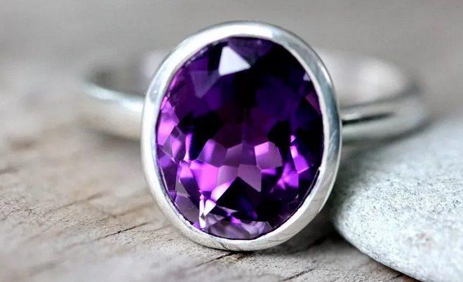 фиолетовые камни свойства