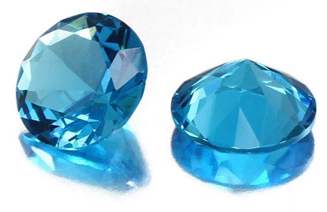 голубые камни применение