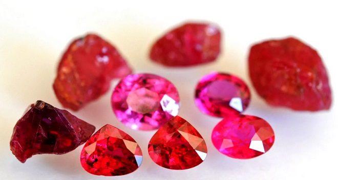 рубин свойства