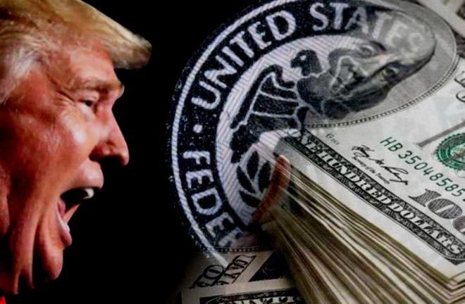 Падение доллара США