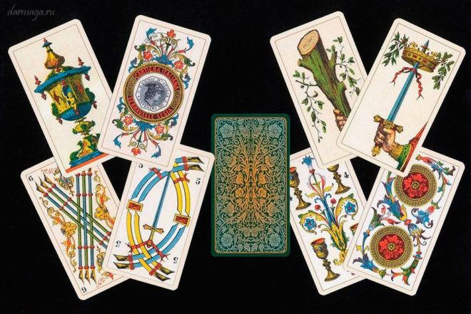 Комбинация карт Таро