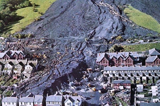 Катастрофа в Уэльсе